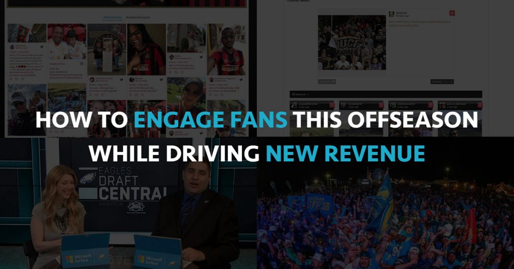 How to Engage Fans This Offseason While Driving New Revenue