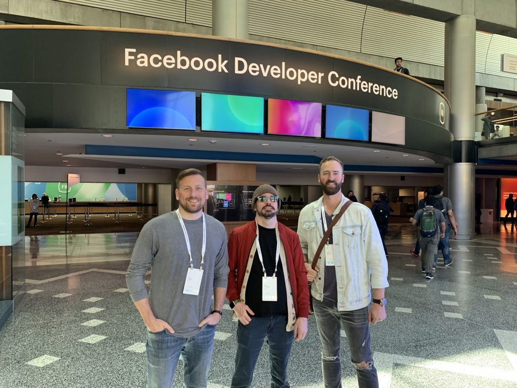 Tagboard Founder and CEO, Josh Decker, Tagboard CPO, Tyler Singletary and Tagboard President, Nathan Peterson.