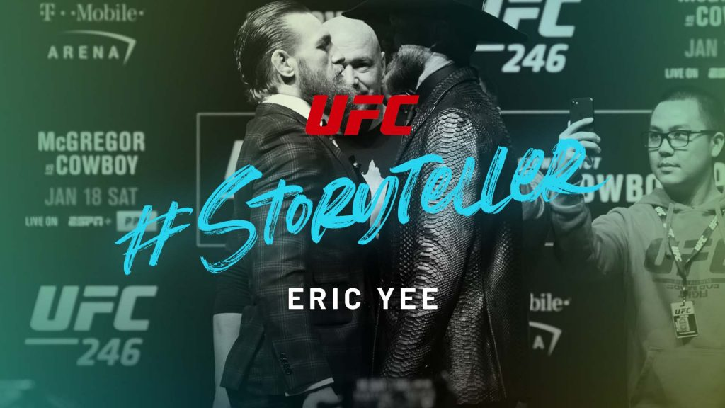 Eric Yee of UFC on #Storyteller